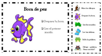 Spanish Reading Strategies: posters and bookmark
