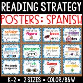Spanish: Reading Strategy Posters {Primary}