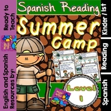 Spanish Reading - Summer Camp Passages - Translation Sheet added -Level 1