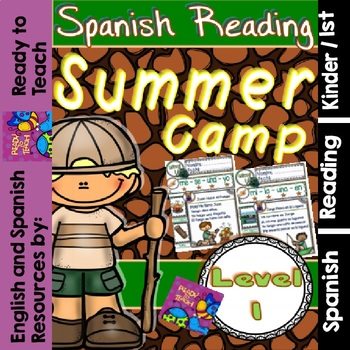 Spanish Reading - Summer Camp Passages - Translation Sheet