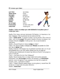 El verano Lectura ~ Summer Spanish Reading (future tense)