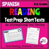 Spanish Reading Test Prep Informational Texts / Textos Informativos / STAAR