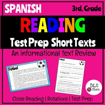 Reading Test Prep Informational Text