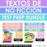 Spanish Reading Test Prep with Task Cards BUNDLE - 20 text
