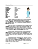 Spanish Ser y Estar Reading + Worksheet - Mi amiga Celina Lectura