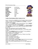 El fin de semana Lectura - Weekend Plans Spanish Reading (