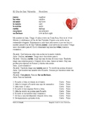 El Día de San Valentín Lectura: Valentine's Day Spanish Reading (Qué Phrases)
