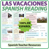 Spanish Reading about Vacations - Las Vacaciones