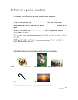 """Spanish Reading and Question Guide to """"La Micología"""" Short Story by Quim Monzó"""