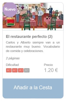Spanish Reading (beginners): El restaurante perfecto (2)