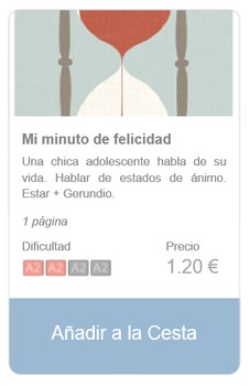 Spanish Reading (beginners): Mi minuto de felicidad