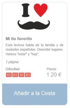 Spanish Reading (beginners): Mi tío favorito