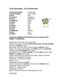 Spanish Reading MEGA Bundle: 20 Scripts / Dialogs for Beginners & Intermediates!