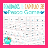 Spanish Realidades 1 Capítulo 2B Vocabulary ¡Pesca! (Go Fish) Game