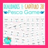 Spanish Realidades 1 Capítulo 2B Vocabulary ¡Pesca! (Go Fi