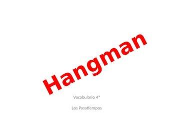 Spanish Realidades 1 Capitulo 4a Vocabulario Hangman