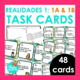 Spanish Realidades 1: Capítulos 1A & 1B Task Cards