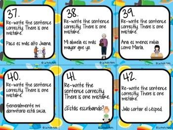 Spanish Realidades 1: Capítulos 6A & 6B Task Cards