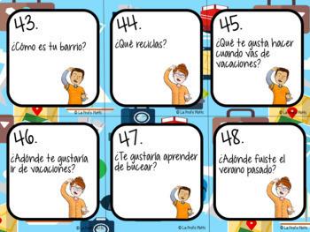 Spanish Realidades 1: Capítulos 8A & 8B Task Cards