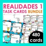 Spanish Realidades 1 Task Cards BUNDLE