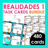 Realidades 1 Task Cards BUNDLE | Spanish Review Activity