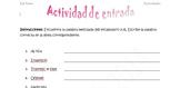 Spanish Realidades 2 (1A-8B) Bundle of 10 Scrambled Words Activities