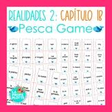 Spanish Realidades 2 Capítulo 1B Vocabulary ¡Pesca! (Go Fish) Game