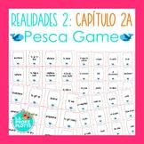 Spanish Realidades 2 Capítulo 2A Vocabulary ¡Pesca! (Go Fish) Game