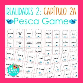 Spanish Realidades 2 Capítulo 2A Vocabulary ¡Pesca! (Go Fi