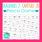 Spanish Realidades 2 Capítulo 2B Vocabulary ¡Pesca! (Go Fish) Game