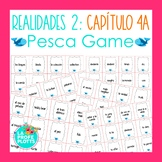 Spanish Realidades 2 Capítulo 4A Vocabulary ¡Pesca! (Go Fish) Game