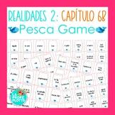 Spanish Realidades 2 Capítulo 6B Vocabulary ¡Pesca! (Go Fish) Game