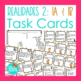 Spanish Realidades 2: Capítulos 1A & 1B Task Cards