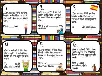 Spanish Realidades 2: Capítulos 2A & 2B Task Cards