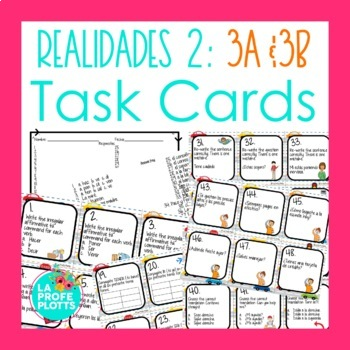 Realidades 2 Chapter 3b Giving Directions Worksheets