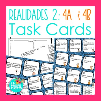 Capitulo 4a Worksheets & Teaching Resources | Teachers Pay Teachers