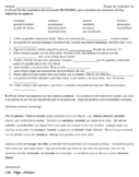 Spanish Realidades 2 Chapter 4A Vocab Quiz (In Context / Reading)