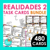 Realidades 2 Task Cards BUNDLE | Spanish Review, Task Cards, Activity