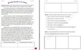 Spanish Realidades 2B Reading Comprehension Activity Vocab & Preterite Practice