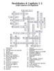 Realidades 4 Crossword Puzzle Bundle