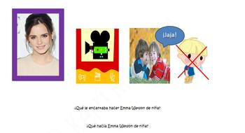 Spanish Realidades 4A/4B Imperfect and Childhood Activities Station Activity