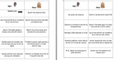 Spanish Realidades Oyes/Dices Verb Conjugation Game for Le