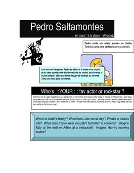 Spanish Reflexive Favorite Star Project