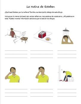 Spanish Reflexive Verb Packet