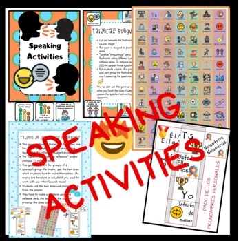 Spanish Reflexive Verbs, ALL ABOUT THEM, speaking and writing activities.