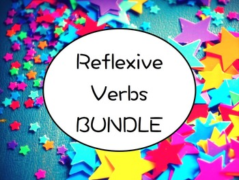Spanish Reflexive Verbs BUNDLE- PowerPoint, Worksheets Pack, Keynote