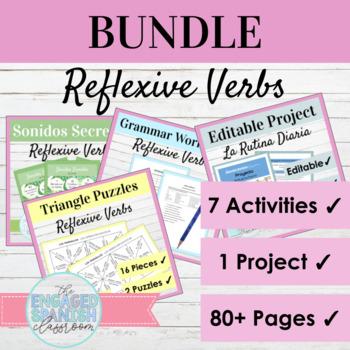 Spanish Reflexive Verbs Bundle: Los Verbos Reflexivos