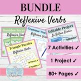 Spanish Reflexive Verbs Activity Bundle | Daily Routine