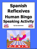 Spanish Reflexive Verbs Human Bingo Game Speaking Activity