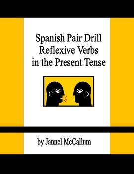 Spanish Reflexive Verbs Pair Drill